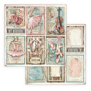 SBB773 Double Sided Single Sheet Passion Cards