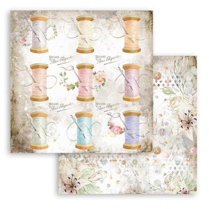 SBB790 Double Sided Single Sheet Romantic Threads Thread