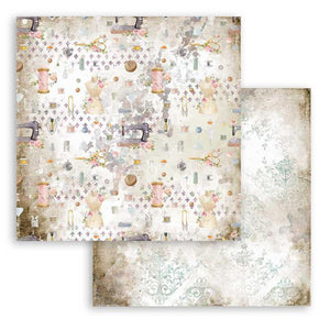 SBB791 Double Sided Single Sheet Romantic Threads Texture