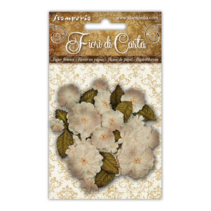 SF145 Flowers Assorted Ivory