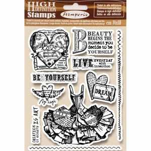 WTKCC165 HD Natural Rubber Stamp 14x18 Fly High