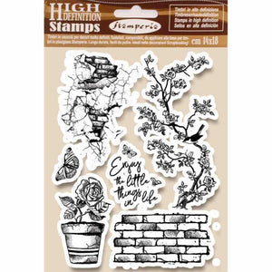 WTKCC166 HD Natural Rubber Stamp 14x18 Enjoy