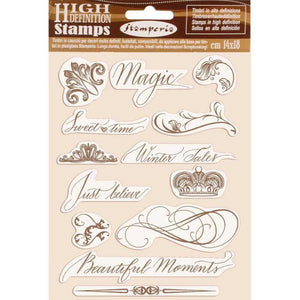 WTKCC168 HD Natural Rubber Stamp 14x18 Beautiful Moments
