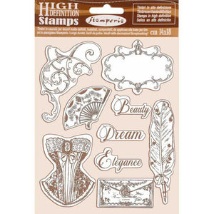 WTKCC186 HD Natural Rubber Stamp 14x18 Princess