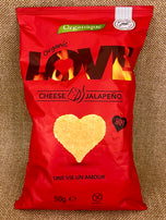 CHIPSY ORGANIQUE LOVE SYR JALAPENO 50g