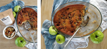Apple Cider and Pecan Pudding