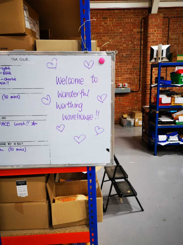 Flying the Nest.. from our old Warehouse to our new one!