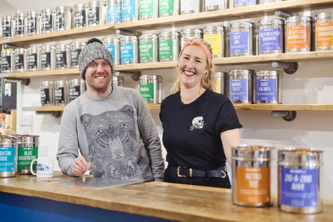 Mike & Krisi Bird and Blend Owners