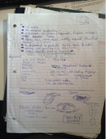 initial business plan for Bluebird by Krisi and Mike
