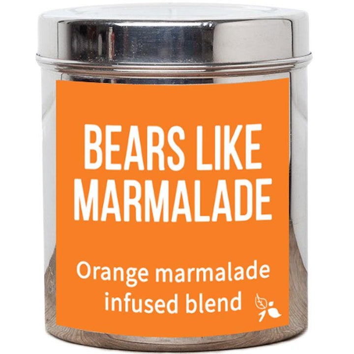 Bears Like Marmalade Tea