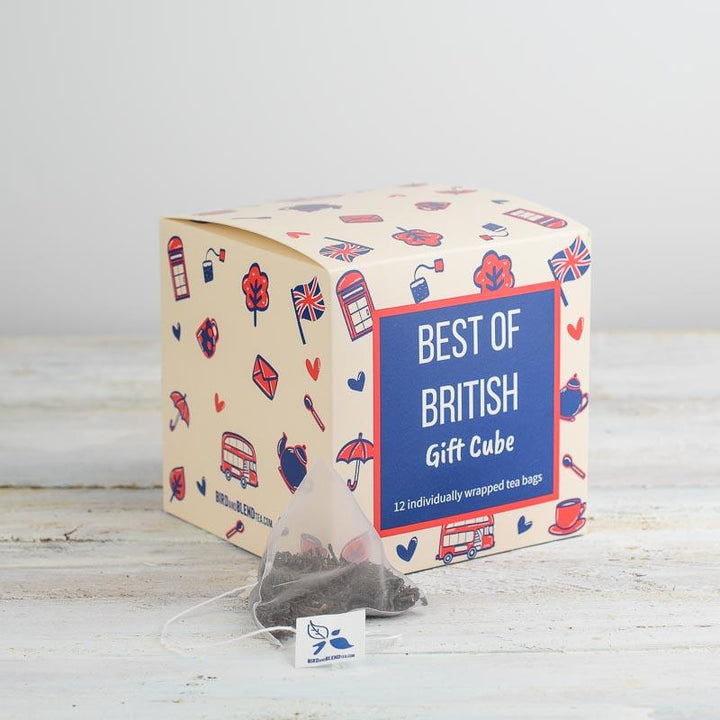 Best of British Gift Cube