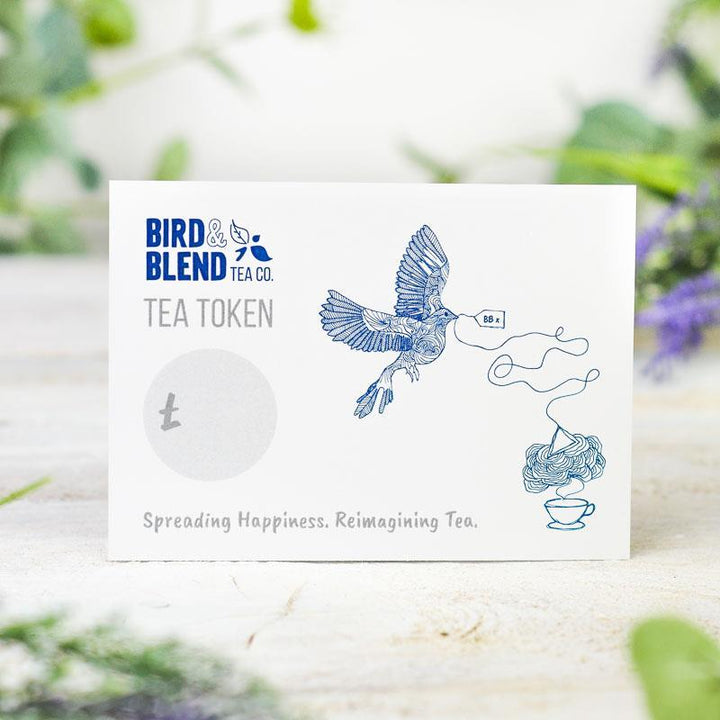 E-Gift Card Tea Token