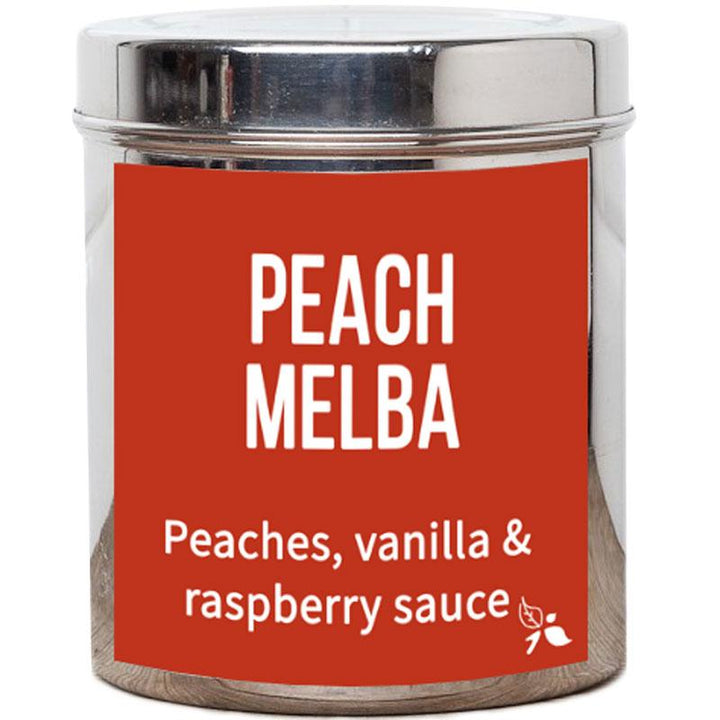 Peach Melba Tea