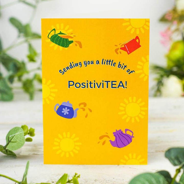 Send PositiviTEA Greetings Card