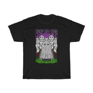 Follow the bouncing ghost boy t shirt