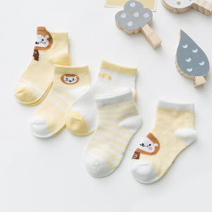 Infant Baby Socks (5 pairs)