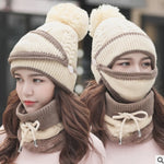 Women's Winter Scarf Set (3pcs)
