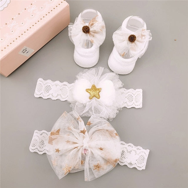 Newborn Baby Accessories Set