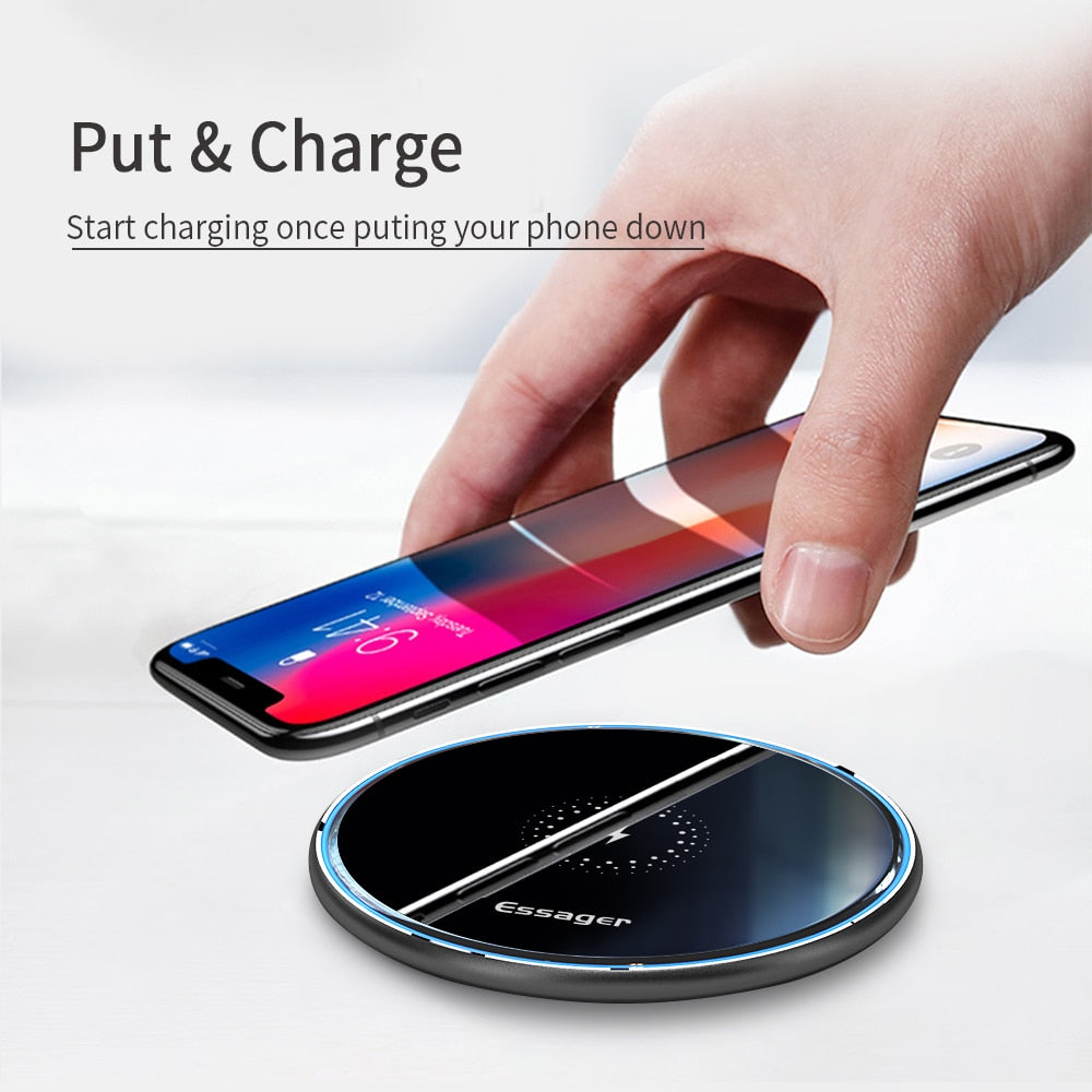 Wireless Mobile Charger (Fast-charging)