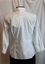 Load image into Gallery viewer, Women's Blouse - Long sleeve/White - Anne Klein Size 2  4/17A