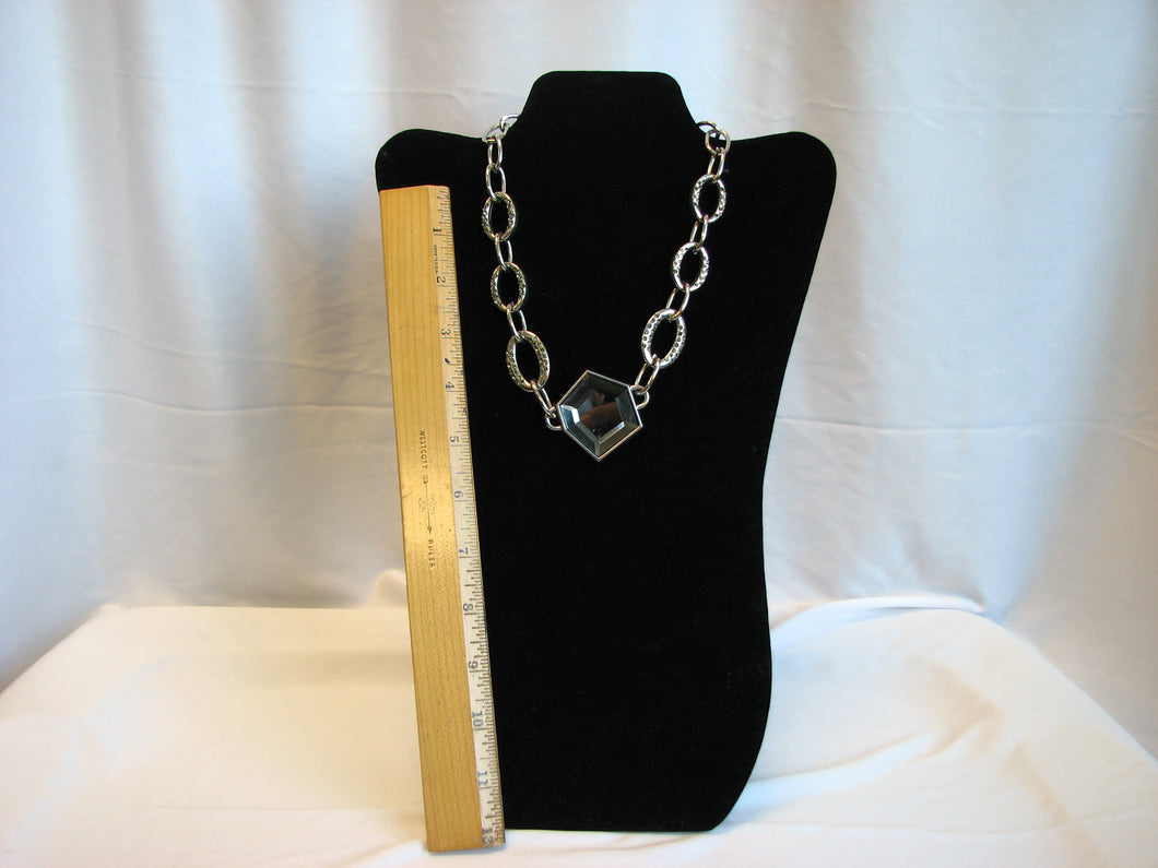 Women's necklace - silver