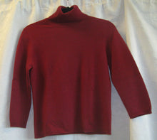 Load image into Gallery viewer, Women's Cashmere Long Sleeved Sweater    S(P)                                    1/20A