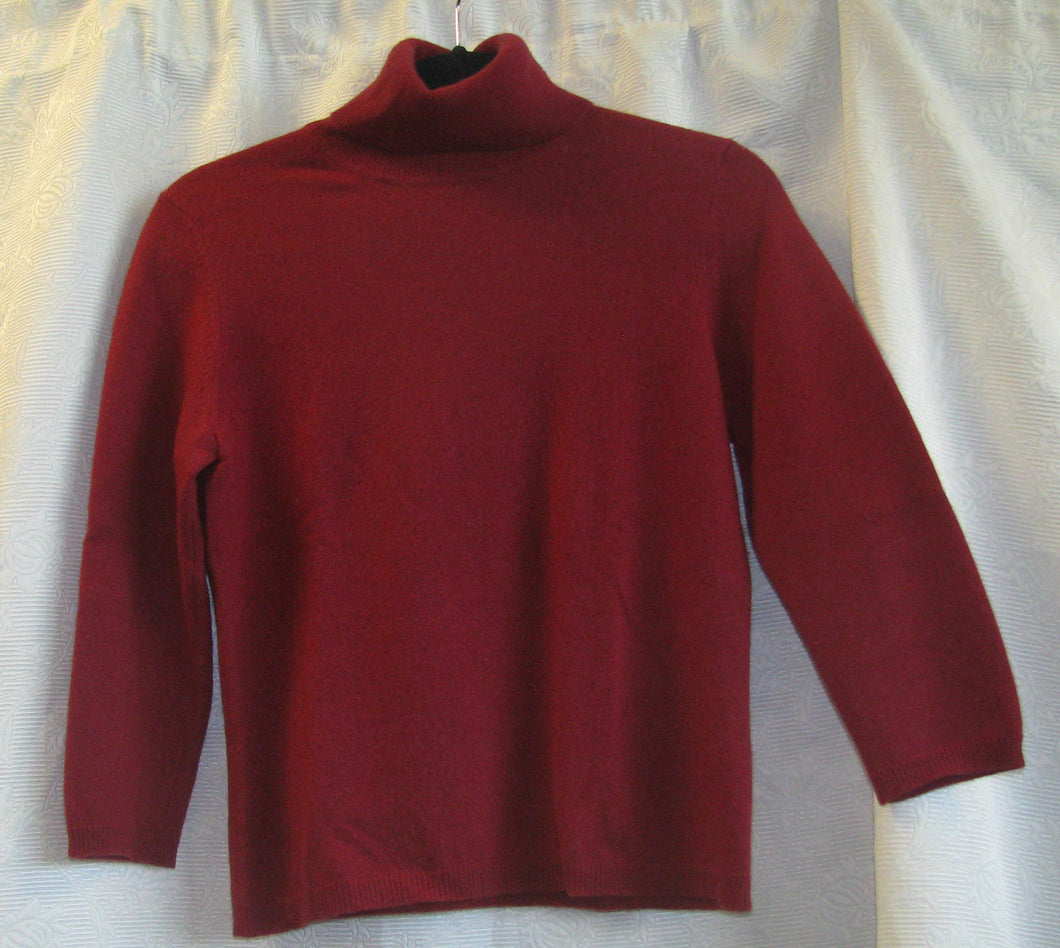 Women's Cashmere Long Sleeved Sweater    S(P)                                    1/20A