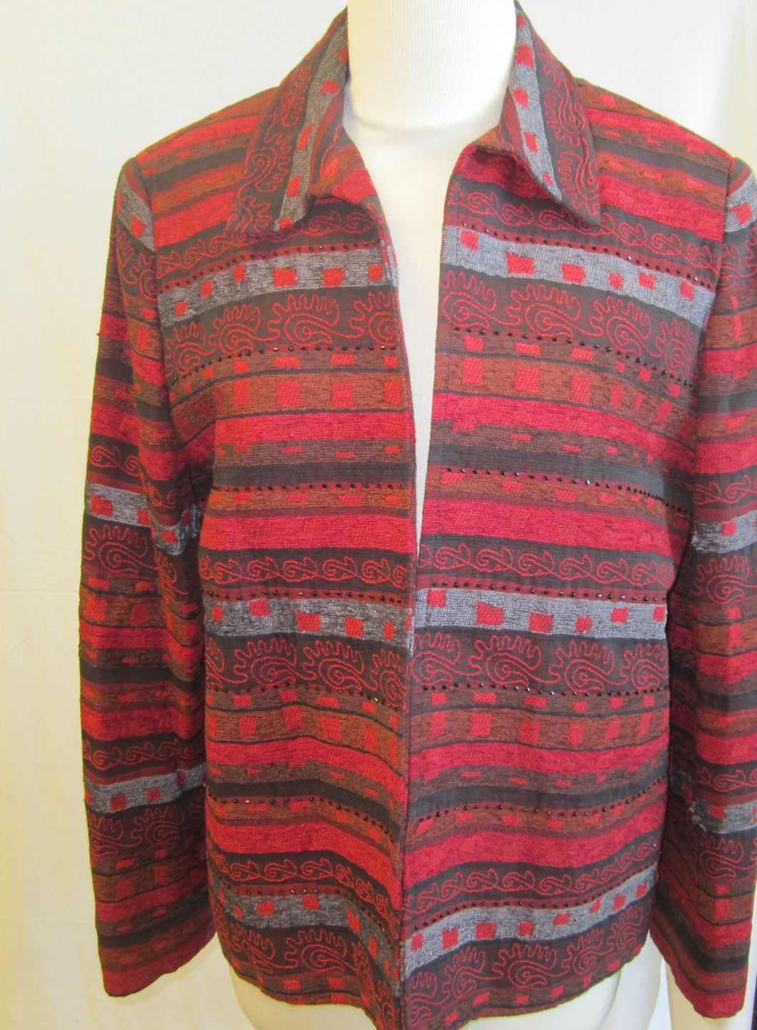 Women's Patterned Jacket                     12(P)                                               1/27A