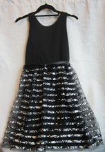 Load image into Gallery viewer, Kids - Girls Black and White Dress - Size 16      12/10A