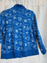 Load image into Gallery viewer, Draper's & Damon's - Blue/White - Women's Jacket - Size M  2/10A