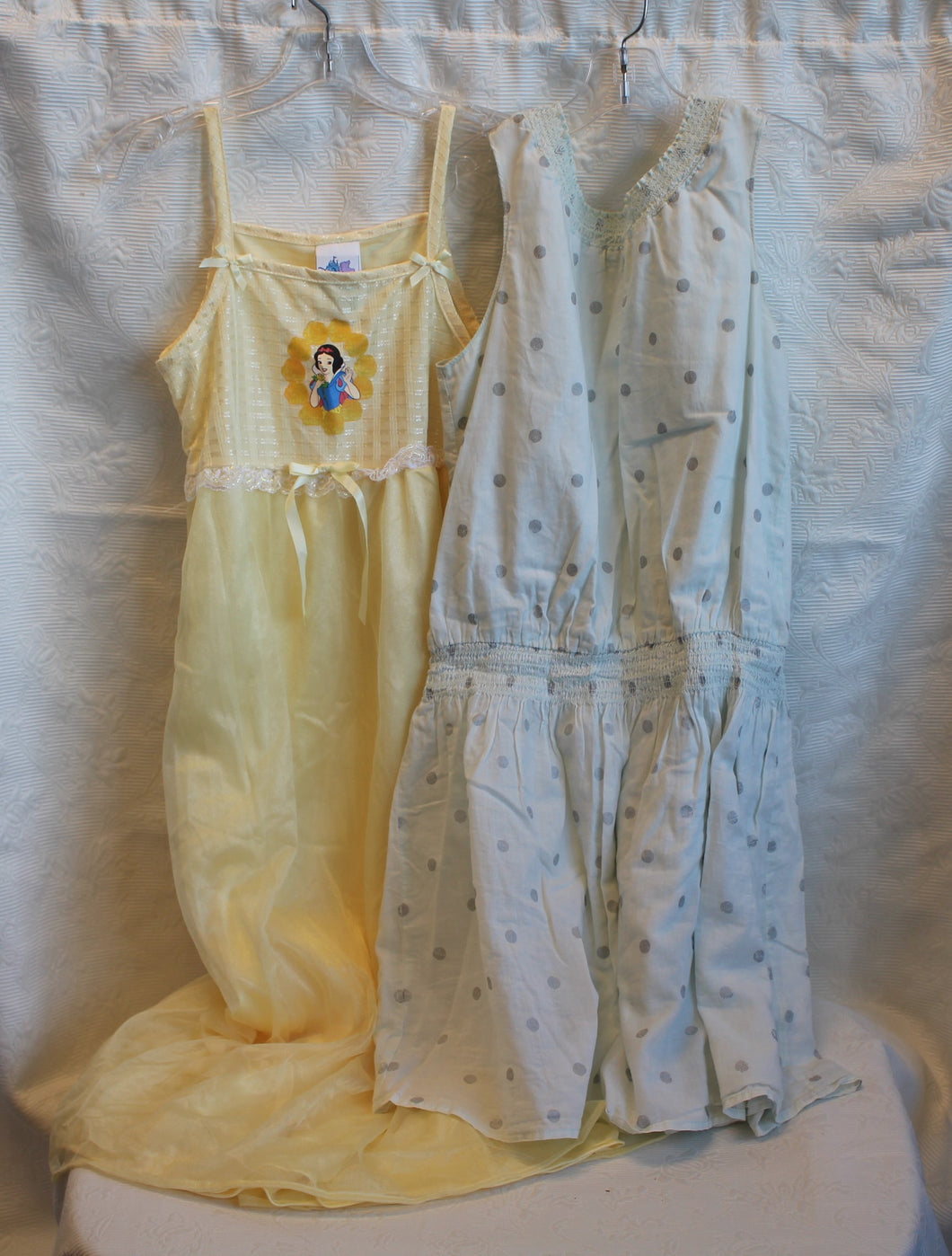 Kids - Girls Bundle - Yellow Disney Nightgown - Size 10-12            2/3A