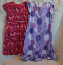 Load image into Gallery viewer, Kids - Girls Bundle - Gymboree Dress and Gymboree Nightgown       Size 5-6