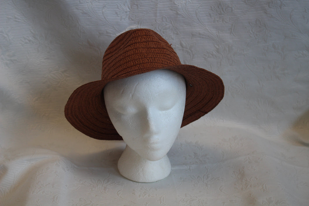 Light Brown - Summer Hat - Size M  2/10 CAB
