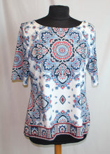 Load image into Gallery viewer, Women's red/white/blue top                   Size L              4/21A