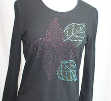 Load image into Gallery viewer, Women's DONCASTER long sleeved  black top              Size S           4/21A