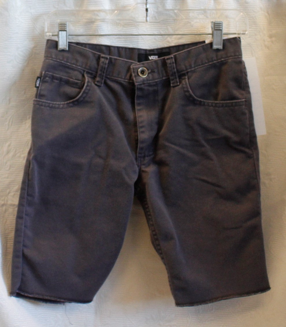 Boy's Grey Jean Shorts                                   12                                                       1/20B