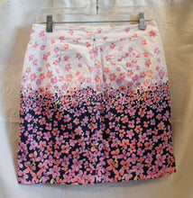 Load image into Gallery viewer, Women's - Pink flowers - Golf Skirt - E P Pro - Size 2           1/20B