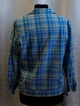 Load image into Gallery viewer, Women's Baby Blue/Yellow Jacket                       M                                       1/27A