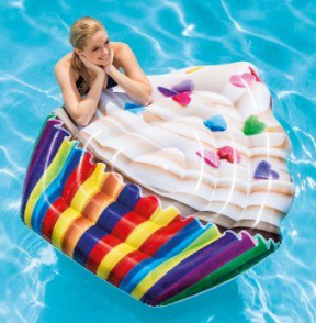 Inflatable Pool Float - Cupcake - New       12/9