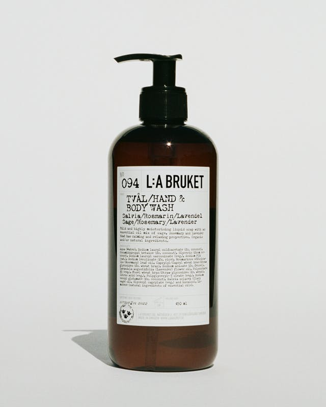NR. 094 HAND & BODY WASH SAGE/ROSEMARY/LAVENDER