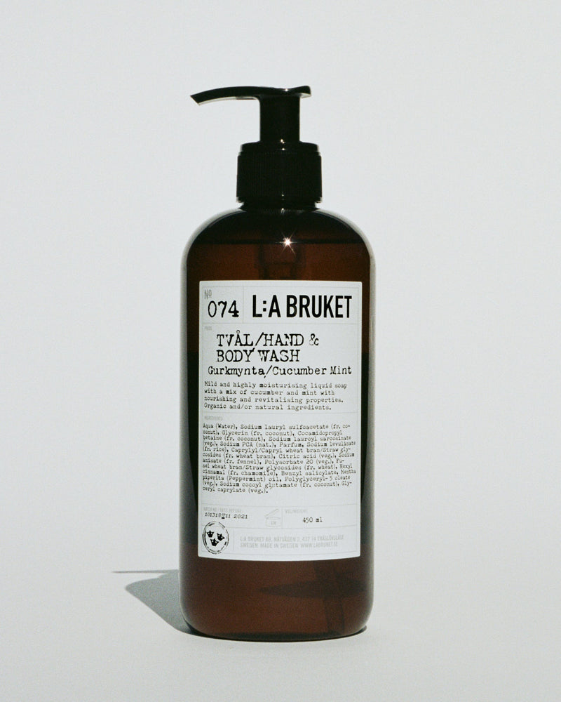 NR. 074 HAND & BODY WASH CUCUMBER/MINT