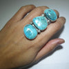 Royston Cluster Ring by Fred Peters size 7