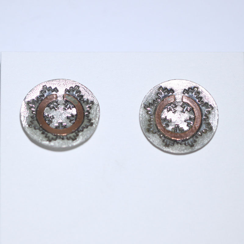 Navajo Basket Post Earring