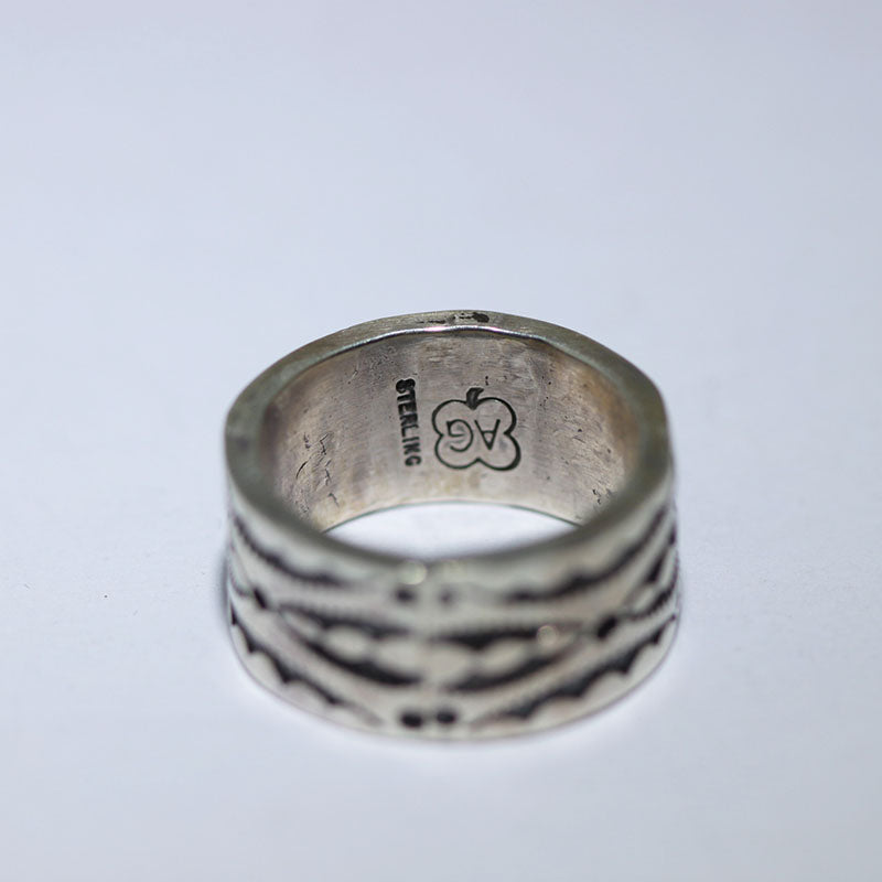 Stampwork Ring by Arnold Goodluck size 9