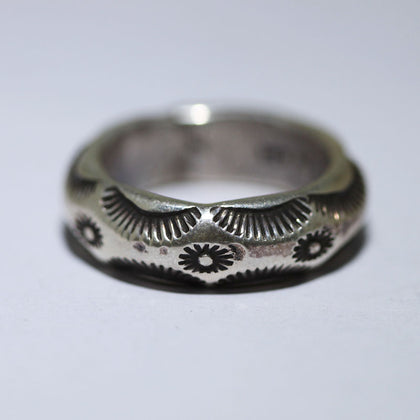 Stampwork Ring by Arnold Goodluck size 6.5