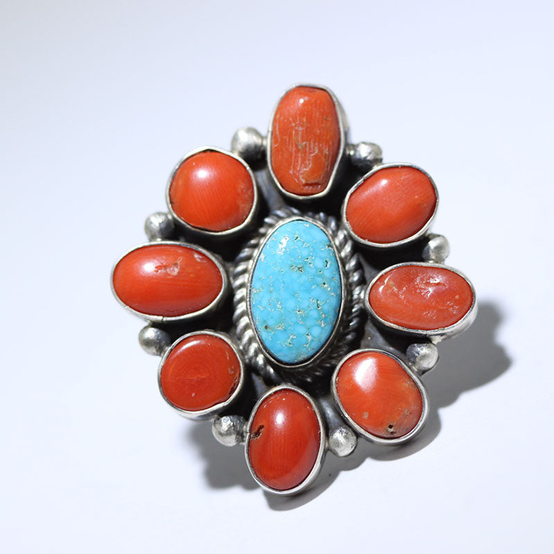 Kingman Cluster Ring by Fred Peters size 8