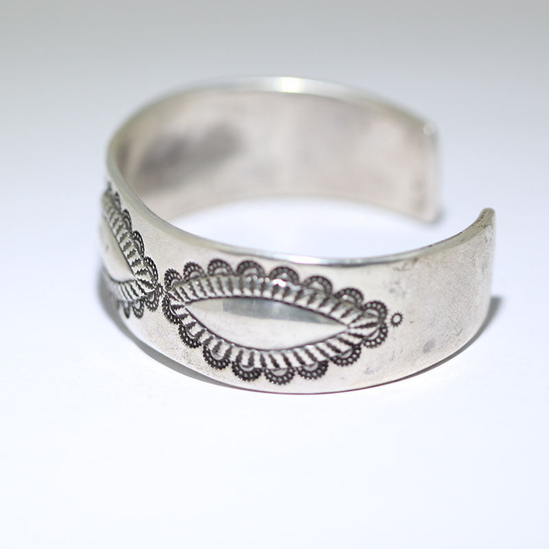 Coin Silver Bracelet by Perry Shorty