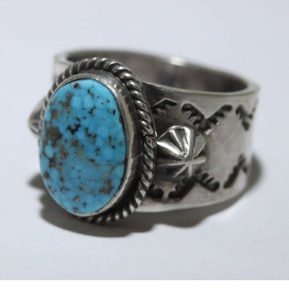 Inlay Ring by Wilbert Manning size 7.5