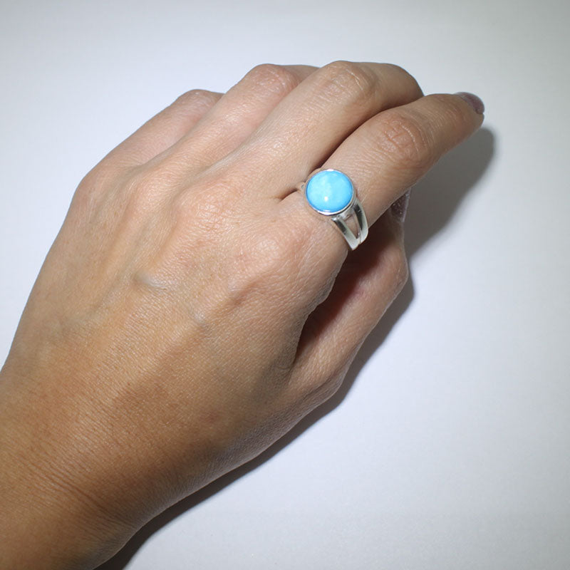 Kingman bracelet by Robert Tsosie
