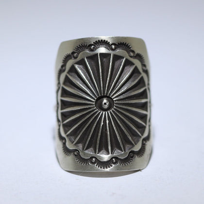 Stamp Ring by Herman Smith 10.75